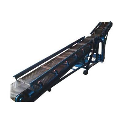 槽型框架皮带机 废旧布料爬坡式输送机 Z型平板式运输机