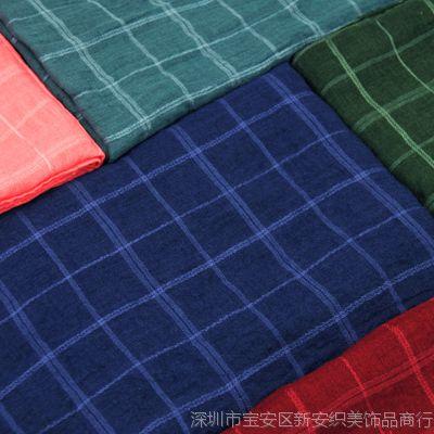 棉麻围巾秋冬季女士 韩版百搭大格子hm卷装爆款超大长款厂家批发