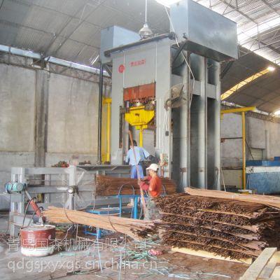 供应青岛国森重组竹压机/重组木设备冷压机与热压机成套设备