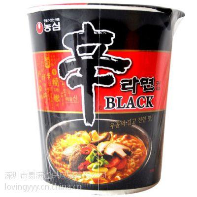 NONGSHIM农心黑牌辛拉面韩国进口至中国 韩国食品香港进口清关