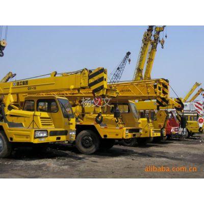 供应上海二手工程机械市场二手徐工8-25吨吊车热销