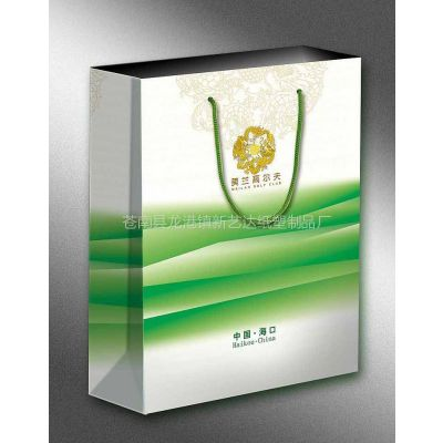 供应青岛手提袋茶叶纸袋印刷厂