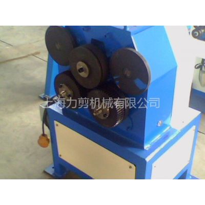 供应厂价直销上冲电动角铁卷圆机、圈圆机、扁钢卷圆机