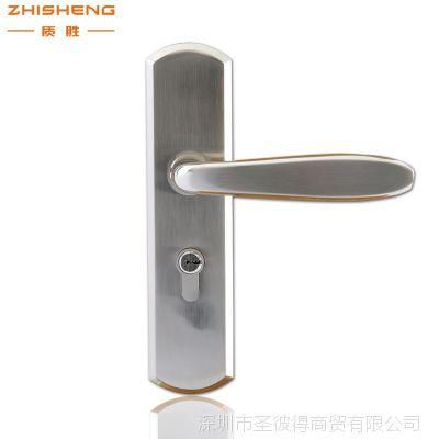 304不锈钢室内门锁房门锁精品执手锁不锈钢锁体铜锁芯 厂价直销