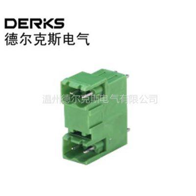 供应德尔克斯YE24L-500插拔式接线端子,免螺丝PCB接线端子
