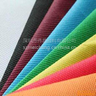 厂家供应环保PP纺粘无纺布色母粒浅紫色 专用无纺布色母