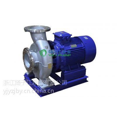 供应管道泵厂家:ISW型不锈钢卧式管道泵|不锈钢单级离心泵