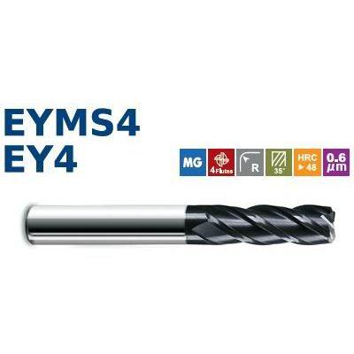 供应E550超微粒4刃圆鼻刀