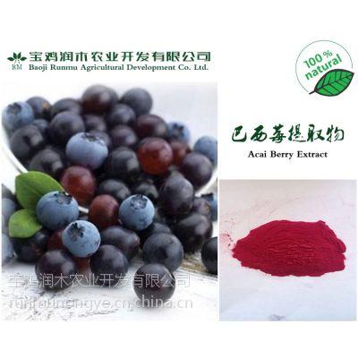 宝鸡润木 巴西莓提取物 阿萨伊粉 4:1