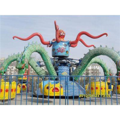 旋转大章鱼|郑州顺航游乐(图)|新型旋转大章鱼