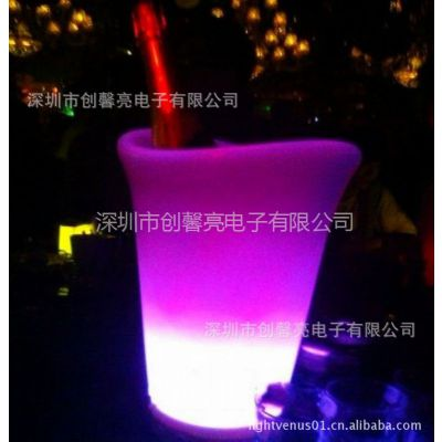【现货供应1个起发】led冰粒桶 冰块桶 香槟桶 酒吧用品