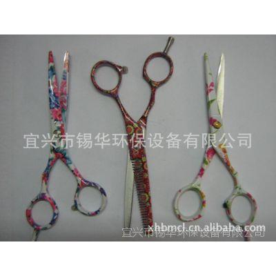 供应印花理发剪,提供各类理发剪表面印花加工