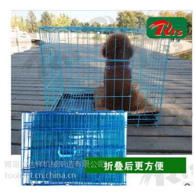 青岛RTS 厂家直销 多功能 铁质可折叠笼子 宠物专用笼