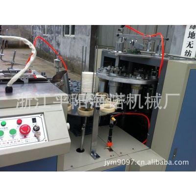 供应全自动双淋膜超声波纸杯机