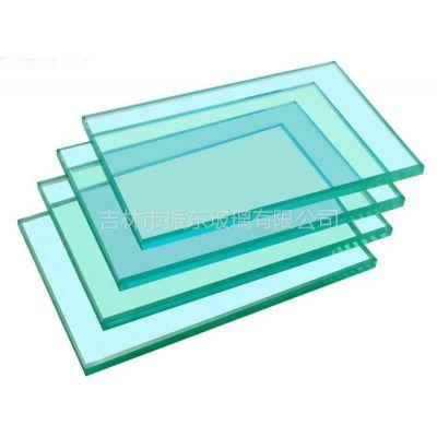 供应钢化玻璃 弯化 异形 钻孔 挖缺 吉林振东玻璃