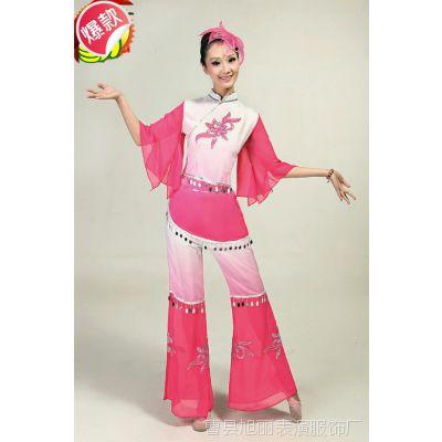 秧歌服装演出服中老年秧歌扇子舞蹈服装民族服装广场舞新款女特价