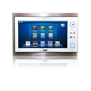 供应AVC先导视讯全数字10.1吋室内机楼宇对讲厂家