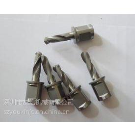 深圳供应带夹槽硬质合金麻花钻头(自带冷却液孔),日本进口带夹槽铁轨钻头、钢板钻头