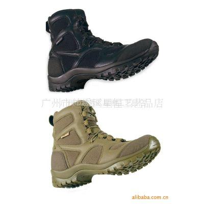 供应户外运动用品 卡其沙黑色黑鹰新款登山靴