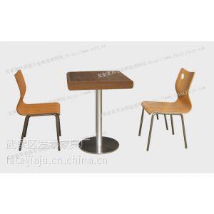 供应德克士餐桌椅,分体快餐桌椅