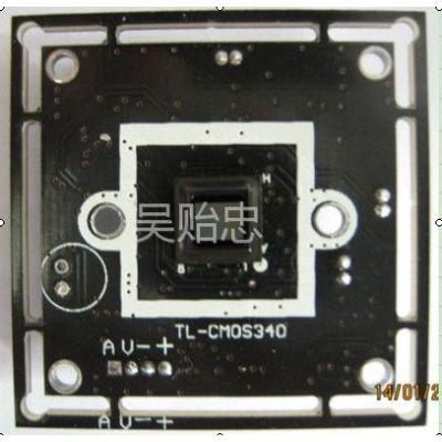 供应CMOS340 高清800线 原厂监控摄像机模块 摄像机主板 可加ir-cut