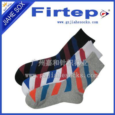 袜子厂家直销纯棉休闲运动袜 男女运动袜批发 便宜全棉运动袜