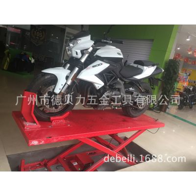 厂家直供摩托车维修平台电动液压升降台越野车维修升降机神箭升降台AX-2011-4