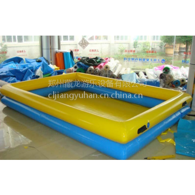 夏季游乐充气水池在哪购买 夏天玩的充气泳池可以定做 水池项目的利润怎么样