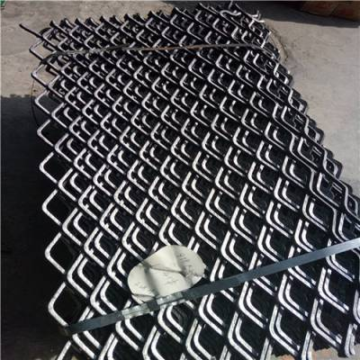 建筑钢板网片 染漆精密防裂网片 工地安全钢板网