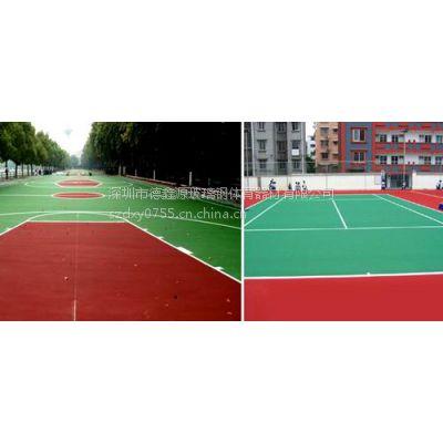 专业承接龙岗篮球场铺设及翻新工程价格实惠