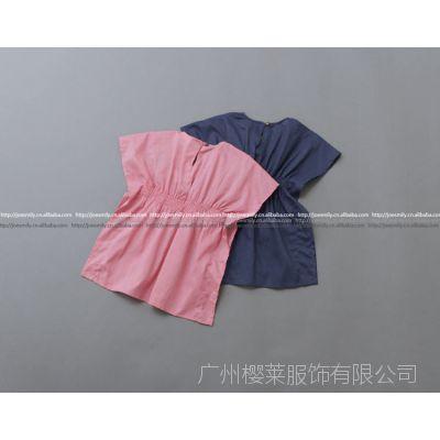 AA春夏款  女童 公主连衣裙衫 儿童束腰 无袖连衣裙 8360