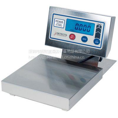 代理原装进口美国DETECTO称重秤 PZ3015L不锈钢电子秤厨师配料秤