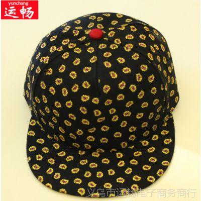 棒球帽 韩版时尚鸭舌帽 男女成人帽 嘻哈帽遮阳平沿帽帆布潮子