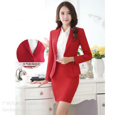 供应广州西服定做 女西装订做 职业女装