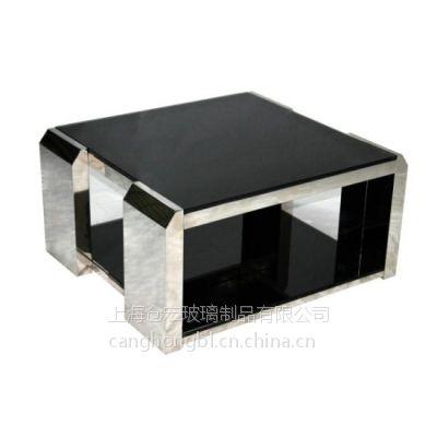 供应10MM优质黑色钢化玻璃