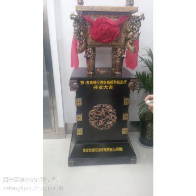 西安策腾工艺品 开业庆典摆件 合成树脂鼎礼品