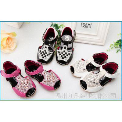 新款韩版公主鞋童鞋夏 女童凉鞋 婴儿学步宝宝凉鞋 儿童凉鞋清仓