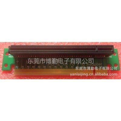 供应PCI-E 16X 164Pin直角转接板  PCI-E 16X 164Pin  90度转接板
