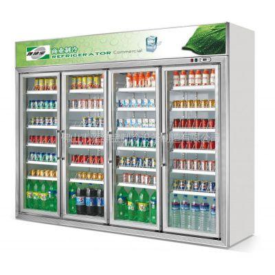 供应供应雅绅宝豪华款四门带边框饮料展示柜/冷藏展示柜/便利店制冷设备