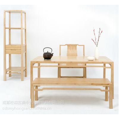 成都 中式家具 中式茶楼 中式会所 中式养生店家具专业定制