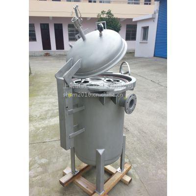 """快开袋式过滤器 不锈钢快速开启过滤器。上海:申劢""""品牌供应"""