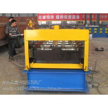750型楼承板全自动彩钢瓦设备兴益压瓦机厂