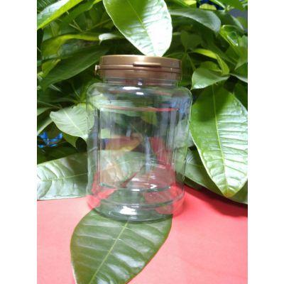 撕拉盖椭圆形透明瓶 450mlPET瓶 撕拉瓶来样加工订做 批发塑料瓶