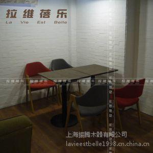 供应上海工厂直销餐饮店餐桌椅 餐饮店实木餐桌椅 餐厅桌椅定制