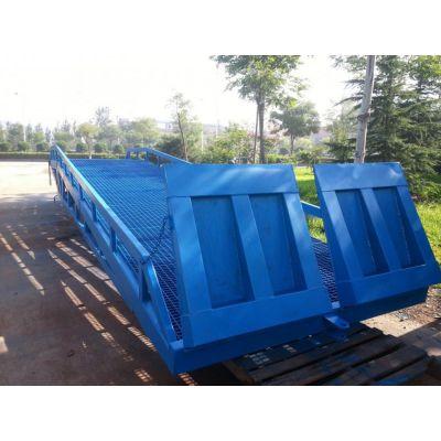 广东直销启运移动式登车桥QYDY15-1.2移动方便适用于物流 工厂运输 港口的装卸车