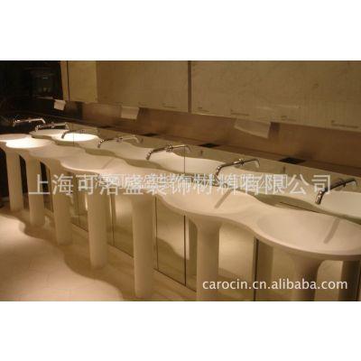 供应上海人造石,订做易清洁,抗污垢水槽,洗脸盆,洗手盆