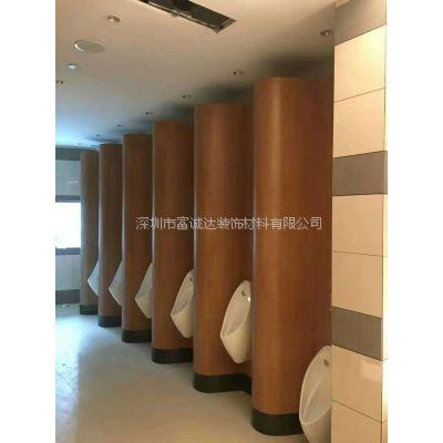 深圳生产厂家直销富诚达防水卫生间隔断厕所隔板送货上门安装
