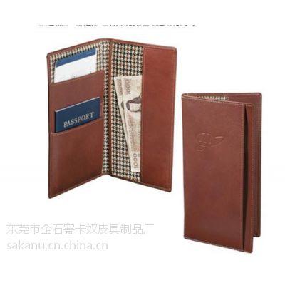 赛卡奴皮具(图)、专业定制护 照夹行李牌、护 照夹