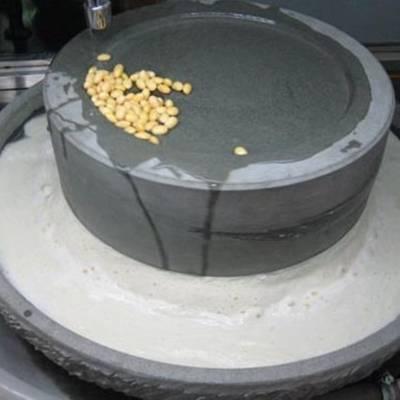 电动商用豆浆石磨 新款米浆石磨 富民牌
