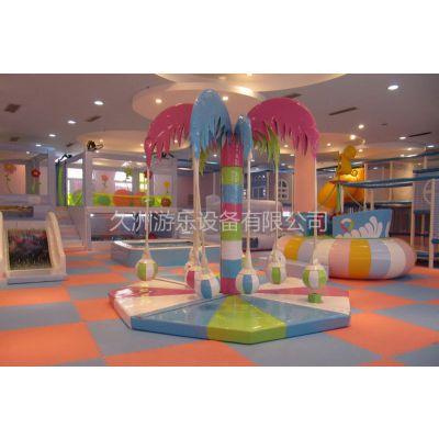 供应久洲游乐厂家直销 室内儿童乐园 电动乐园 室内椰子树